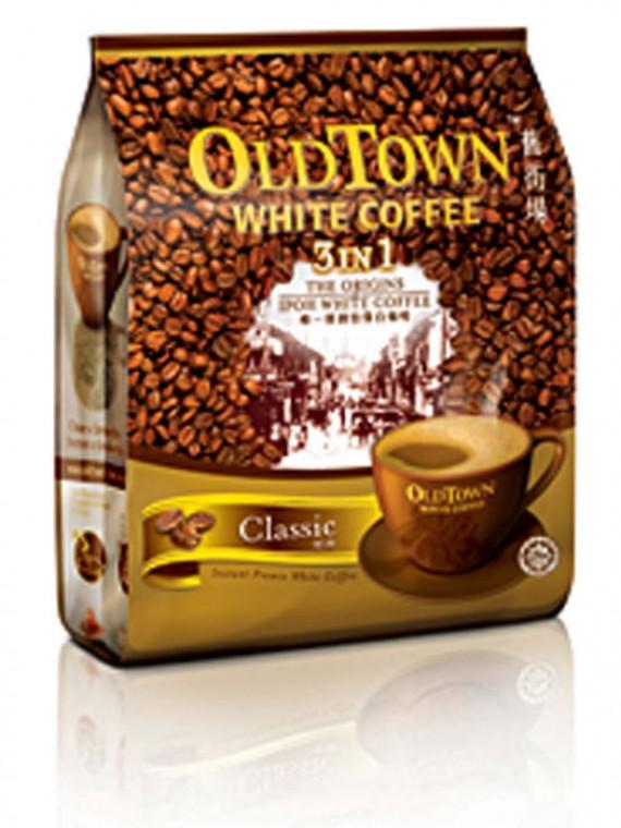 Oldtown White Coffee 3 In 1 Hazelnut White Coffee White Coffee