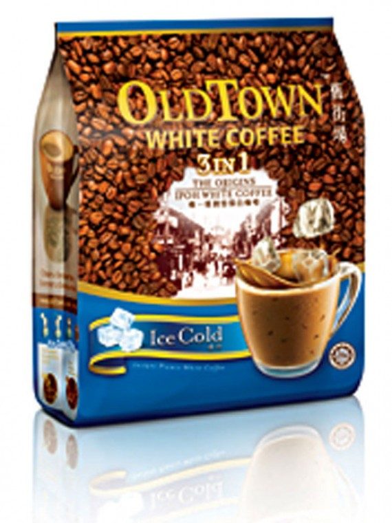 OLDTOWN White Coffee – 3-in-1 Ice Cold White Coffee
