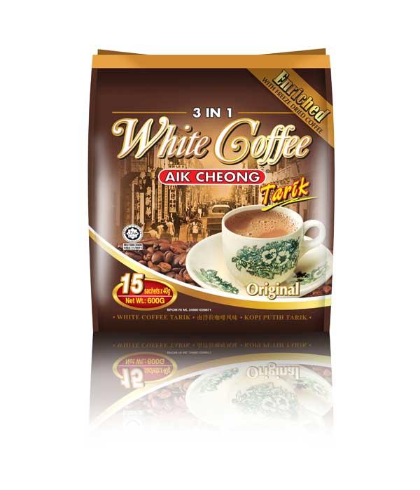Aik Cheong - 3 in 1 White Coffee Tarik - White Coffee ...