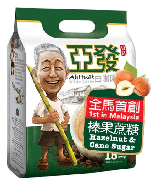 Ah-Huat-4-in-1-Hazelnut-&-Cane-Sugar-White-Coffee