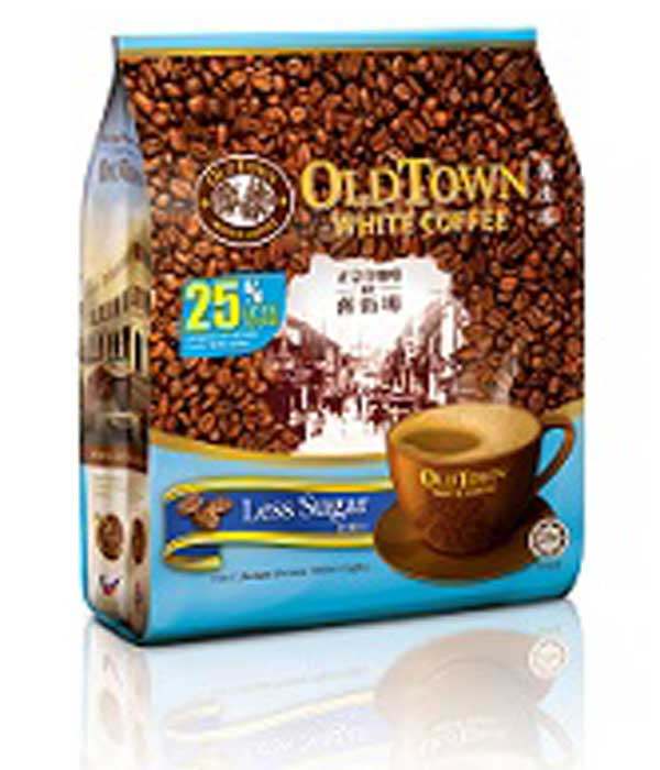 OLDTOWN White Coffee - 3-in-1 Less Sugar - White Coffee ...